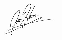 Jim Horn Signature