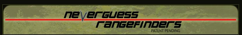 NeverGuess Rangefinders